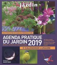 Agenda pratique du jardin 2019
