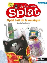 Splat fait de la musique