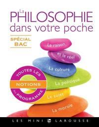 La philosophie dans votre poche, spécial bac