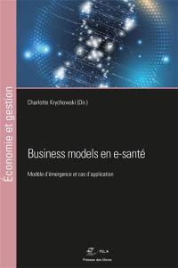 Business models en e-santé