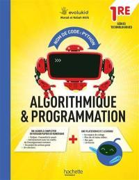 Nom de code, Python : algorithmique & programmation : 1re séries technologiques