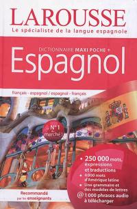 Dictionnaire maxipoche + espagnol