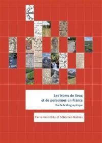 Les noms de lieux et de personnes en France