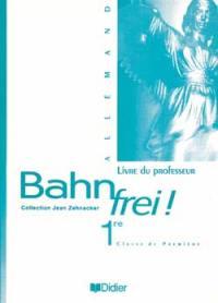 Bahn frei ! : 1re, classe de première : livre du professeur
