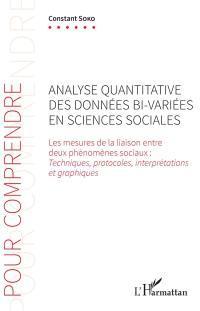 Analyse quantitative des données bi-variées en sciences sociales