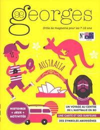 Georges : drôle de magazine pour enfants. n° 52, Australie