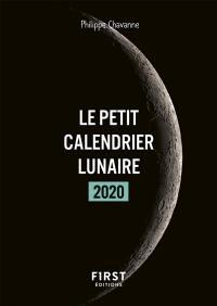 Le petit calendrier lunaire 2020