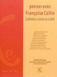 Penser avec Françoise Collin