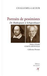 Portraits de pessimistes