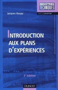 Introduction aux plans d'expériences