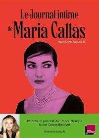 Le journal intime de Maria Callas