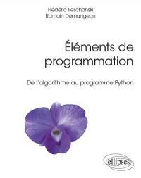 Eléments de programmation