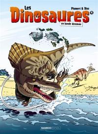 Les dinosaures en bande dessinée. Volume 4,