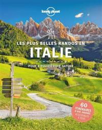 Les plus belles randos en Italie