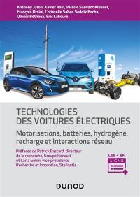 Technologies des voitures électriques