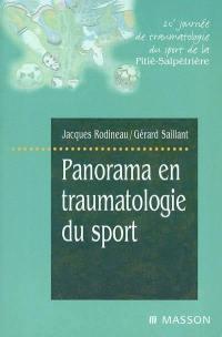 Panorama en traumatologie du sport