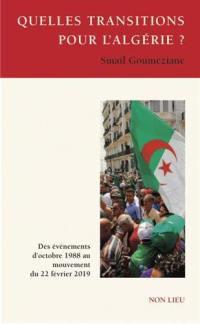 Quelles transitions pour l'Algérie ?