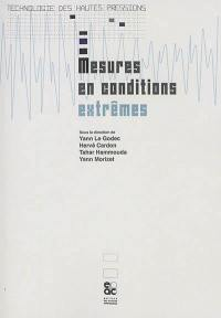 Mesures en conditions extrêmes