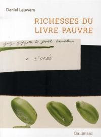 Richesses du livre pauvre