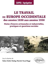 Le travail en Europe occidentale