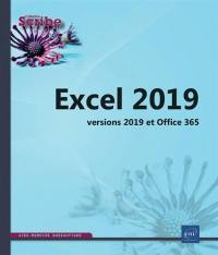 Excel versions 2019 et Office 365