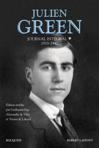 Journal intégral. Volume 1, 1919-1940