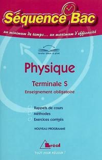 Physique, terminale S, enseignement obligatoire