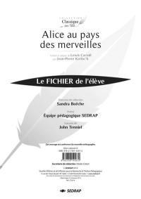 Alice au pays des merveilles, traduit et adapté de Lewis Carroll par Jean-Pierre Kerloc'h