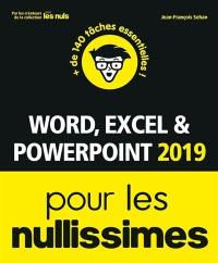 Word, Excel & PowerPoint 2019 pour les nullissimes