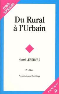 Du rural à l'urbain