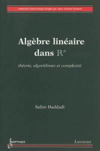 Algèbre linéaire dans R