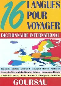 16 langues pour voyager