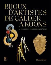 Bijoux d'artistes, de Calder à Koons