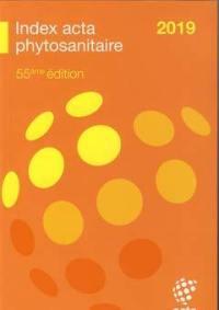 Index Acta phytosanitaire 2019