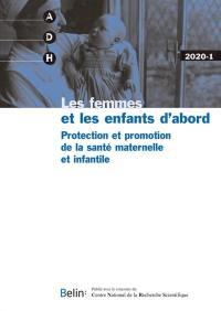 Annales de démographie historique. n° 1 (2020), Les femmes et les enfants d'abord