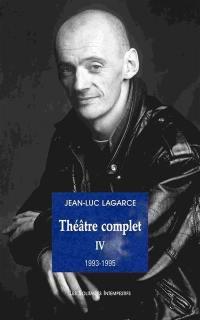 Théâtre complet. Volume 4,