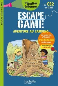 Aventure au camping