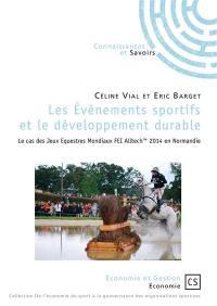 Les événements sportifs et le développement durable
