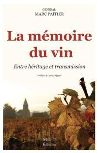 La mémoire du vin