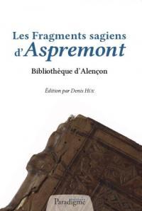 Les fragments sagiens d'Aspremont