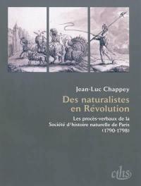 Des naturalistes en Révolution