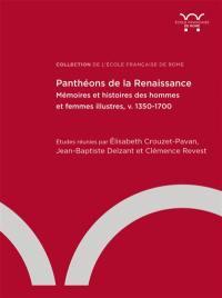 Panthéons de la Renaissance