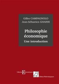 Philosophie économique