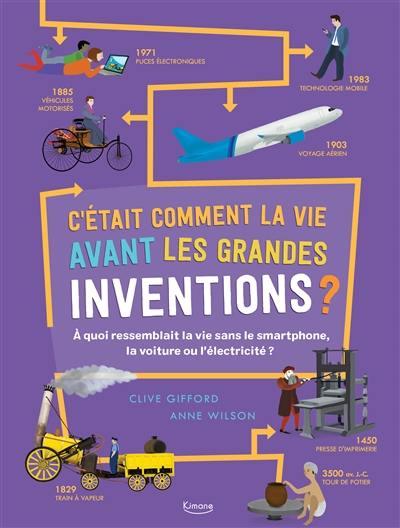 C'était comment la vie avant les grandes inventions ?