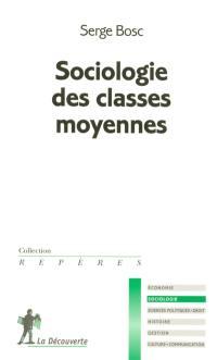 Sociologie des classes moyennes