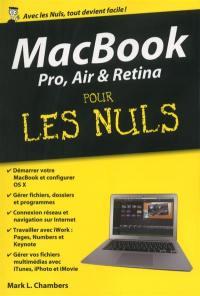 MacBook Pro, Air et Retina pour les nuls