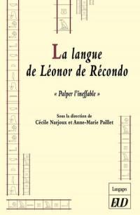 La langue de Léonor de Récondo