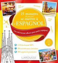 15 minutes par jour pour se mettre à l'espagnol