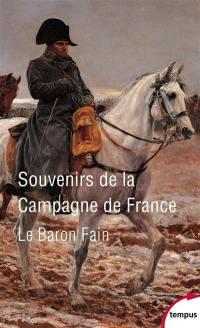 Souvenirs de la campagne de France