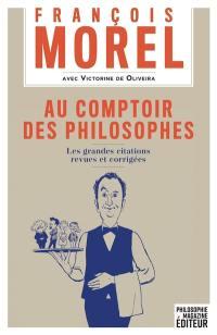 Au comptoir des philosophes